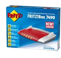 AVM FRITZ!Box 7490 PACK INT left